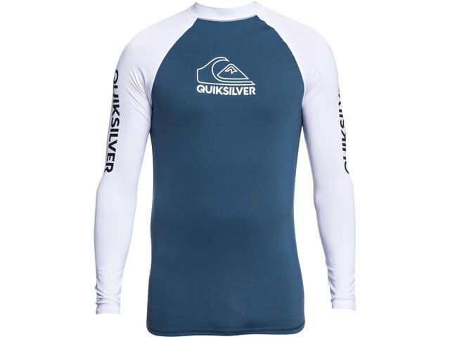 Quiksilver On Tour LS Shirt Men, majolica blue